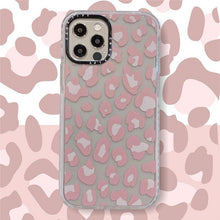 Load image into Gallery viewer, Luxury brand leopard print Transparent non-slip Soft Silicon phone Case for iphone 12 MiNi 7 8 X XS XR MAX 11 Pro Plus 6S cover