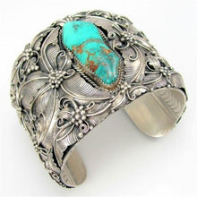 Load image into Gallery viewer, Indian Style Butterfly Silver Vintage Bracelet