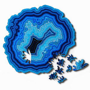 Agate Wooden Jigsaw Puzzle