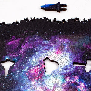 Infinite Galaxy Wooden Jigsaw Puzzle
