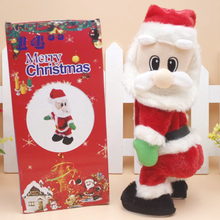 Load image into Gallery viewer, Electric Santa Claus with Music for Christmas Decoration