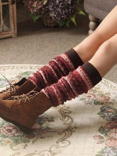 Load image into Gallery viewer, Popular Wool Over Knee-high Stocking