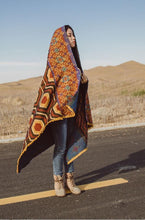 Load image into Gallery viewer, Winter Thick Geometric Imitation Cashmere Warm Shawl