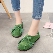 Load image into Gallery viewer, Soft Leather Slip On Lazy Portable Comfortable Flat Loafers For Women