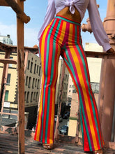 Load image into Gallery viewer, Sexy Striped Casual Long Pants Flared Trousers