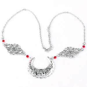 Women Forehead Jewelry Crescent Moon Head Accessories