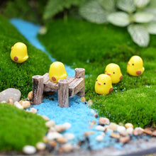 Load image into Gallery viewer, 10Pcs Set Easter Party Mini Chicken Ornament Lovely Resin Fairy Miniature Garden Scene Home Garden Crafts Decoration