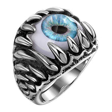 Load image into Gallery viewer, Gothic Evil Eye Ball Design Charm Ring Jewelry For Men