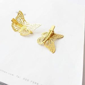 High Quality Fashion Women Hairpins Hollow Butterfly Retro Elegant Hair Accessories