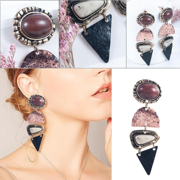Boho vintage Drop earrings for woman