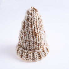 Load image into Gallery viewer, Winter Mixed Color Spire Thicken Knit Hat Bonnet