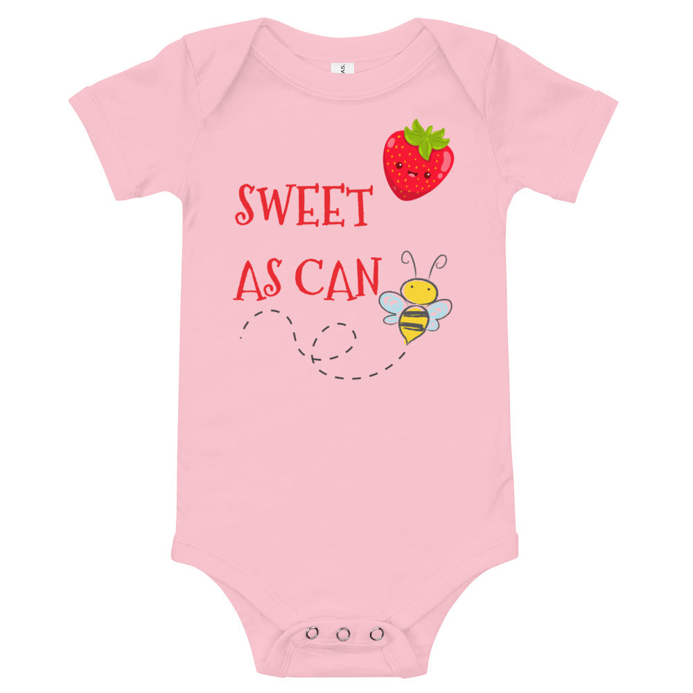 Oli & Joy Sweet As Can Bee Infant Bodysuit