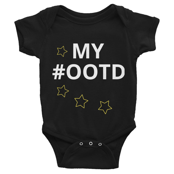 Oli & Joy My #OOTD Infant Bodysuit