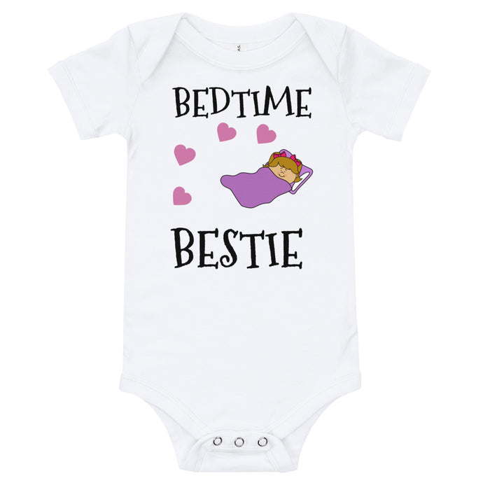 Oli & Joy Bedtime Bestie Infant Bodysuit [Various Colors]
