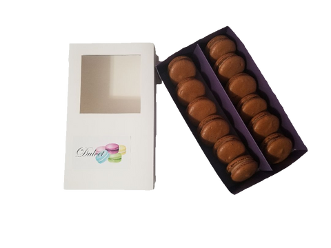 Chocolate Lover's Box of 12 (White) - Dulcet Cravings