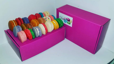 Variety Flavor Box of 24 (Pink)