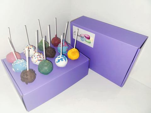 Pick Your Own Cake Pop Box of 12 (Purple)