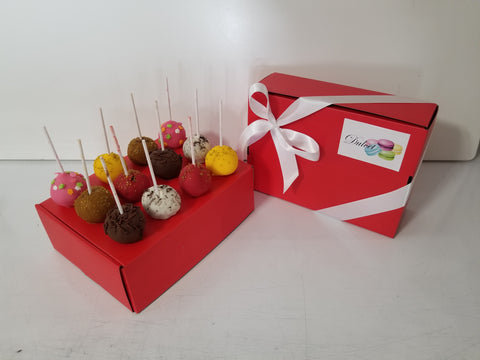 Variety Cake Pop Box of 12 - Dulcet Cravings
