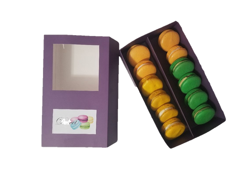 Citrus Dream Box of 12 (Purple) - Dulcet Cravings