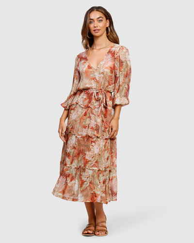 MINISTRY OF STYLE - Cabana Resort Midi Dress