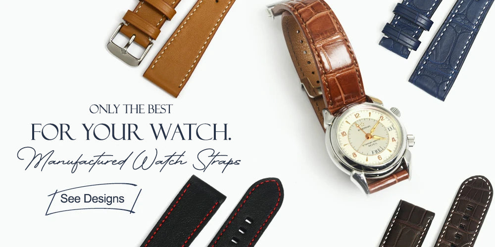 Leather Watch Straps Manufacted by Bocane Atelier