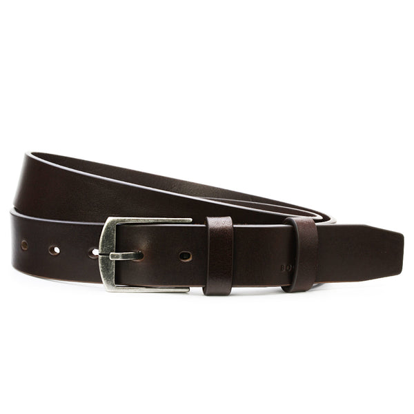 Mahogany Leather Belt, Casual Collection