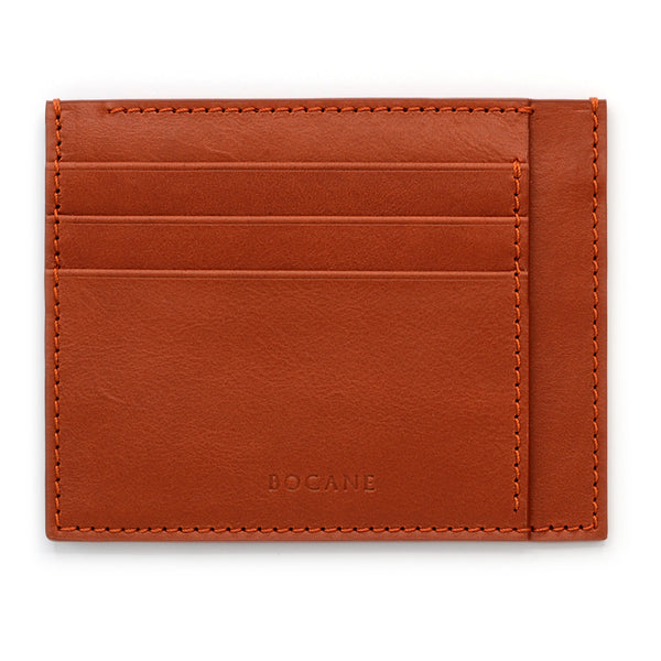 Marble Rust Full Grain Leather Card Case