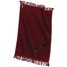 Load image into Gallery viewer, Scratch Port & Co. Grommeted Finger Tip Towel