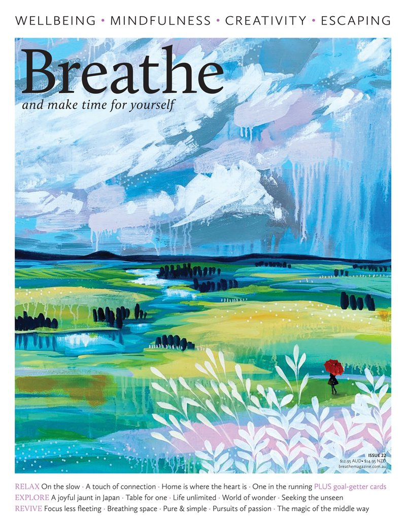 Breathe Magazine magazine cover