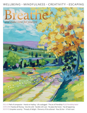 Breathe Magazine Issue 26 - Fearless & flowing