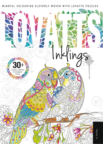 Lovatts Inklings Vol 14 - Clever colour-ins
