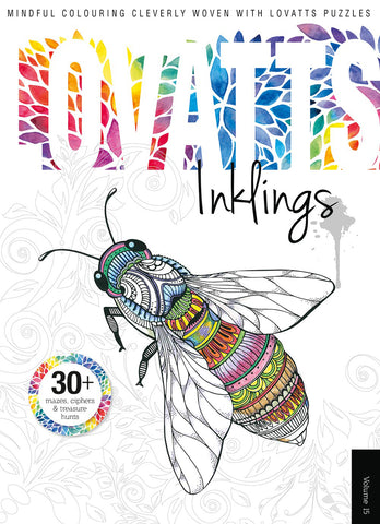 Lovatts Inklings Vol 15 - Clever colour-ins