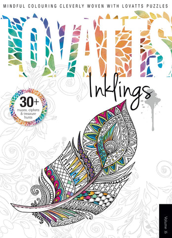 Lovatts Inklings Vol 16 - Clever colour-ins