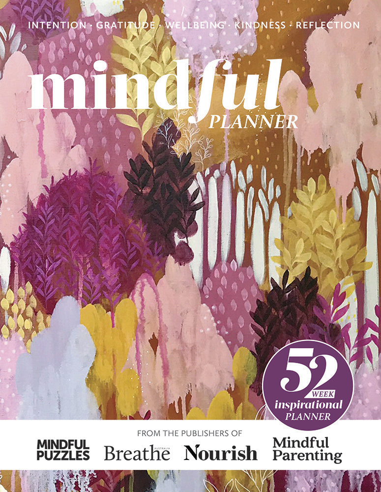 Mindful Planner magazine cover