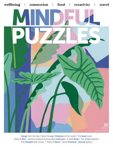 Mindful Puzzles Issue 21 - Work of heart