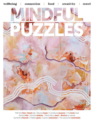 Mindful Puzzles Issue 22 - Go forth & flourish