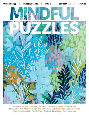 Mindful Puzzles Issue 23 - A date with solitude (07/06/2021)
