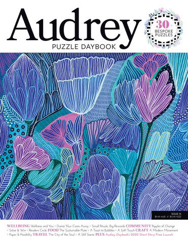 Audrey Puzzle Daybook Issue 15 - Dance Your Cares Away