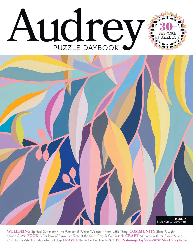 Audrey Puzzle Daybook magazine cover