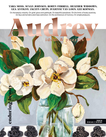 Audrey Magazine Issue 18 - Enduring Beauty (On Sale 06/07/20)