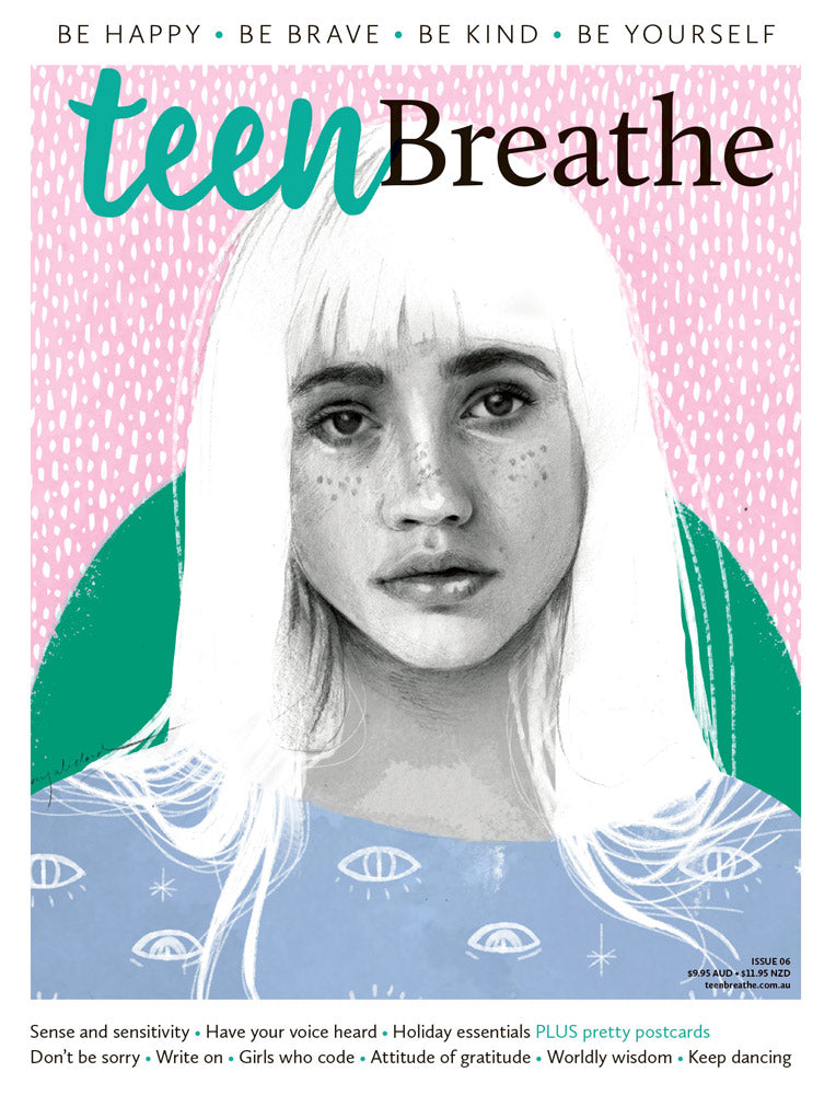Teen Breathe Issue 6 - Sealed with a smile – Lovatts Magazines