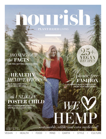 Nourish Magazine Vol 8, No.3 - We love hemp!