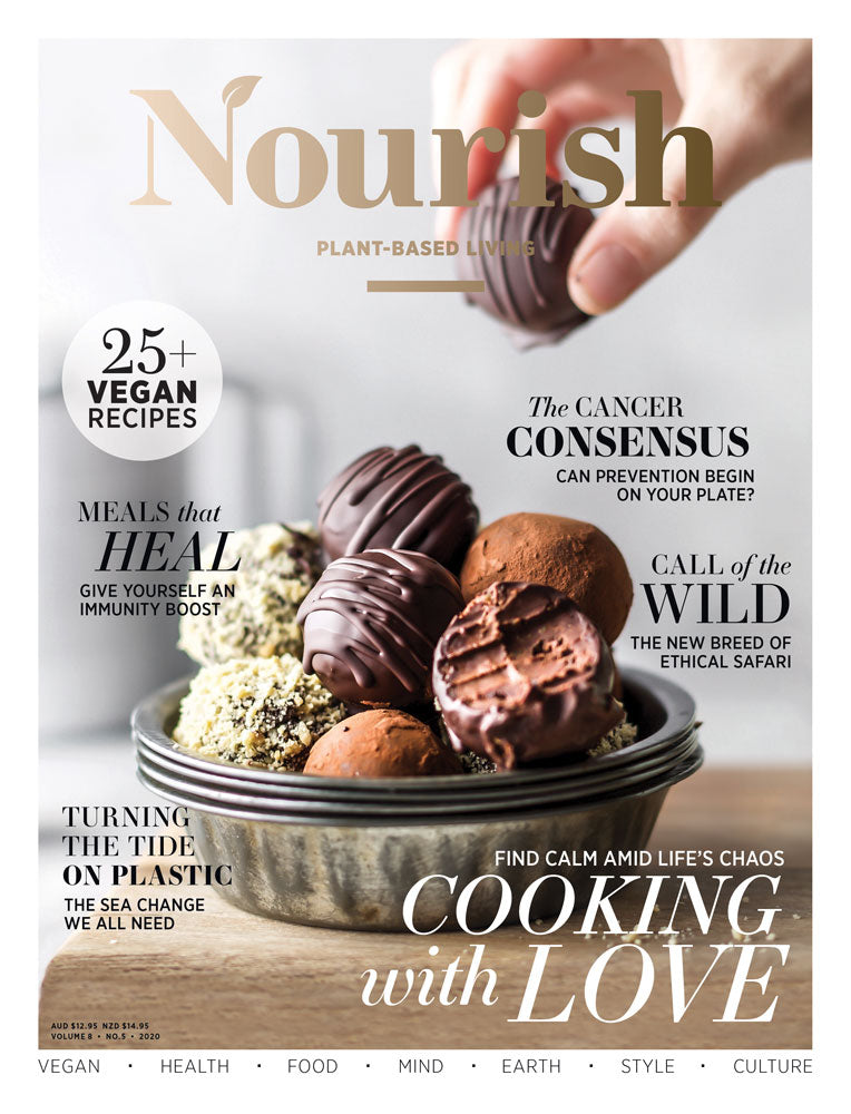 Nourish Magazine magazine cover