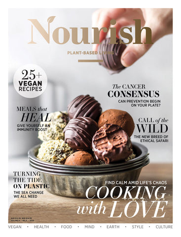 Nourish Magazine Vol 8, No.5 - Food for thought
