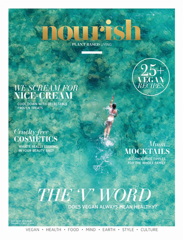 Nourish Magazine Vol 7, No.1 - A new way of thinking