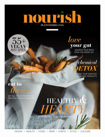 Nourish Magazine Vol 7, No.4 - Eat to thrive