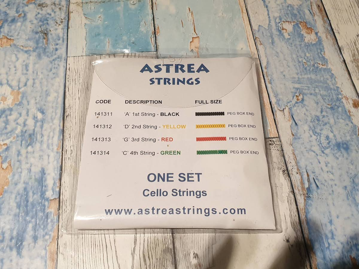 Astrea Cello String Set (full size)