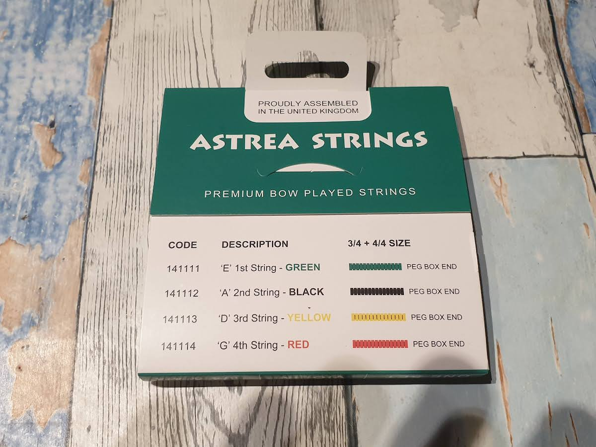 Astrea Violin String Set (full size)