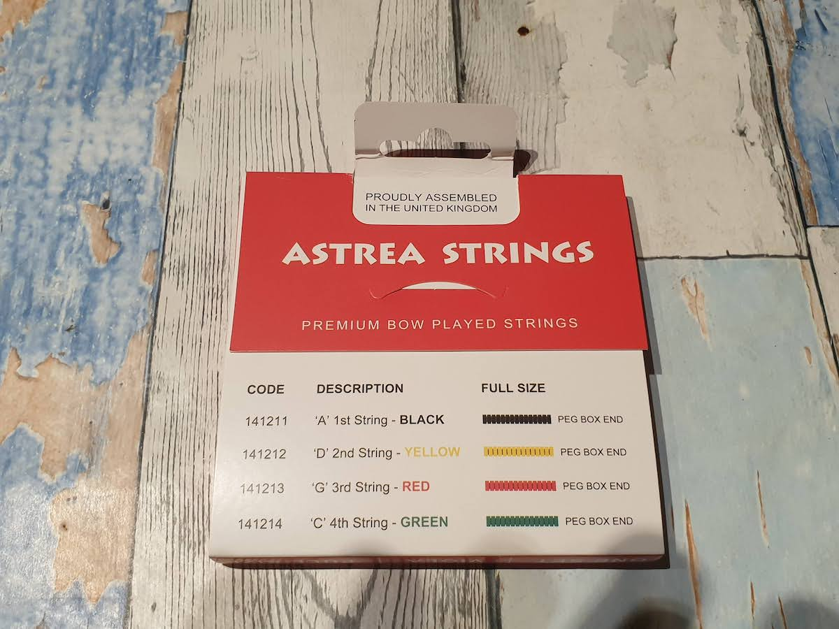 Astrea Viola String Set (full size)