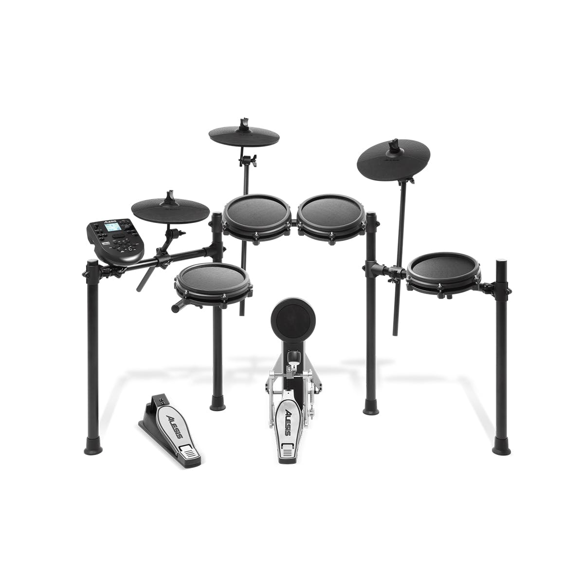 Alesis Nitro Mesh Electronic Drum Kit with kick pedal and sticks